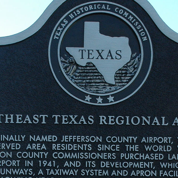 History of Jack Brooks Regional Airport
