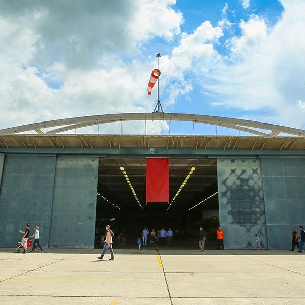 Hangar Development and Leasing at Jack Brooks Regional Airport